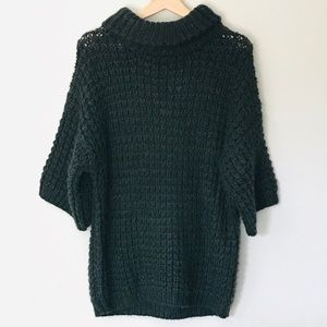 Plenty by Tracy Reese Green Chunky Knit Sweater S